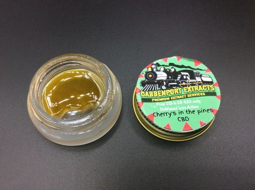 Cherry's in the Pines CBD Live Action by Dabbenport Extracts