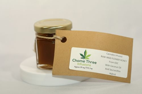 Honey - Chome Three Infusions - 1.5 oz