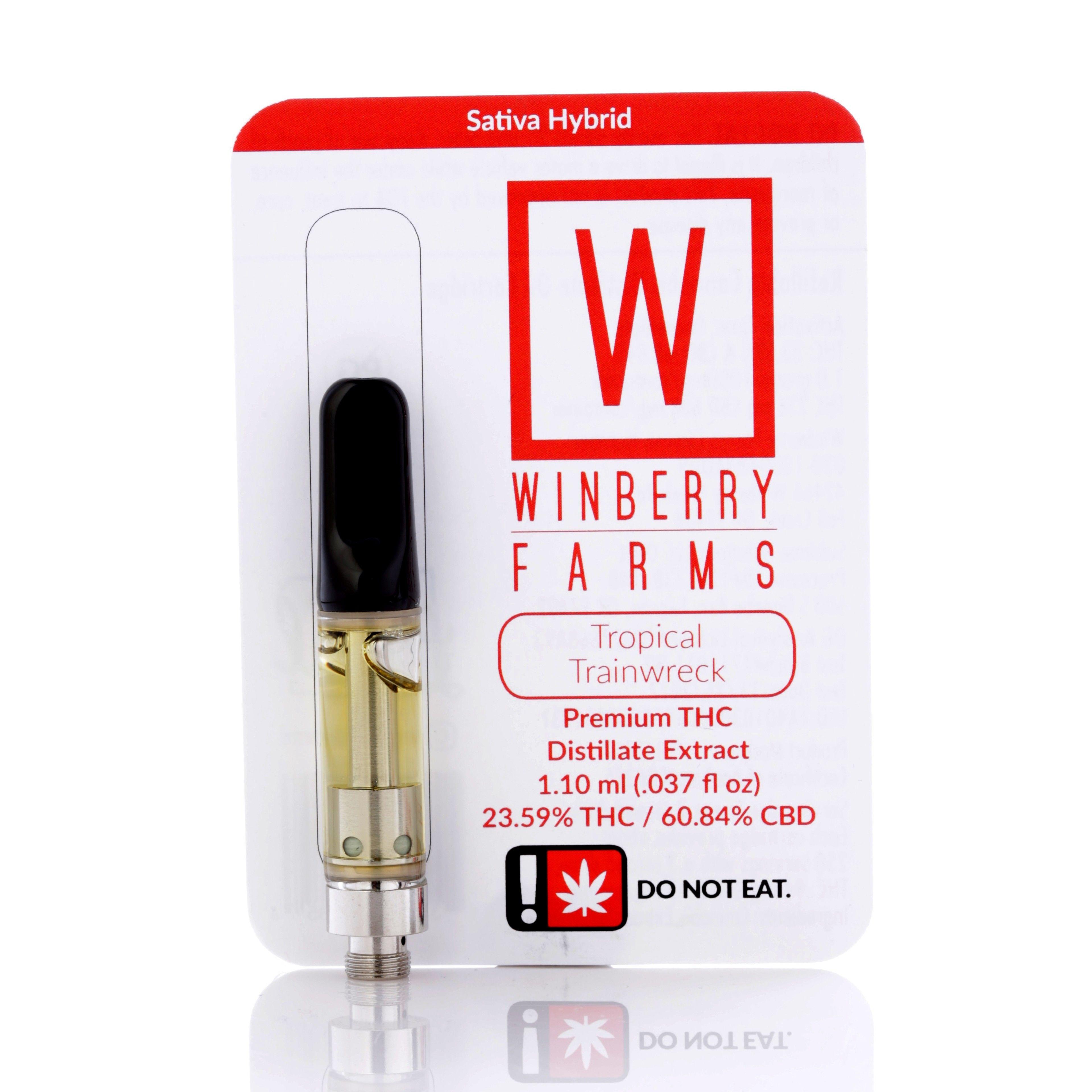 Winberry - CBD Tropical Trainwreck , Sativa Hybrid