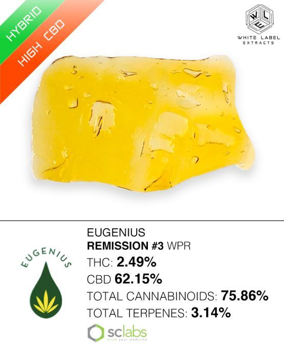 WLE - Remission #3, High CBD, Pull-n-snap