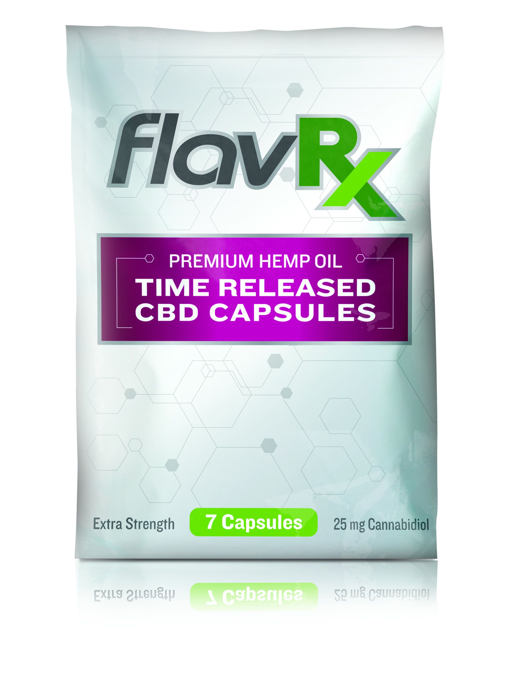 175MG FlavRX CBD Time Release Capsule