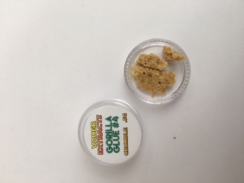 Vader Extracts - Gorilla Glue #4 Crumble