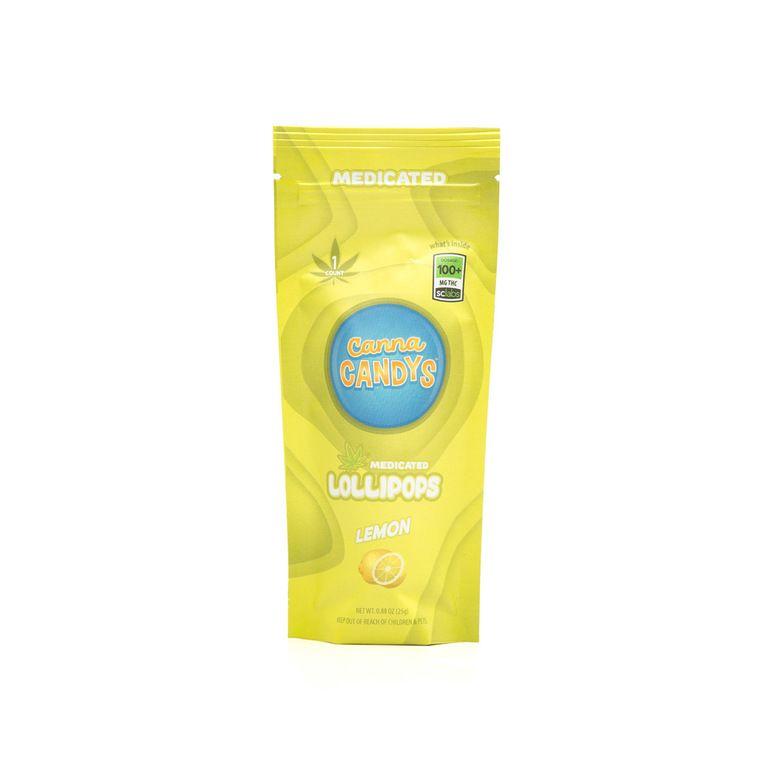 Lemon Lollipop, 100mg THC