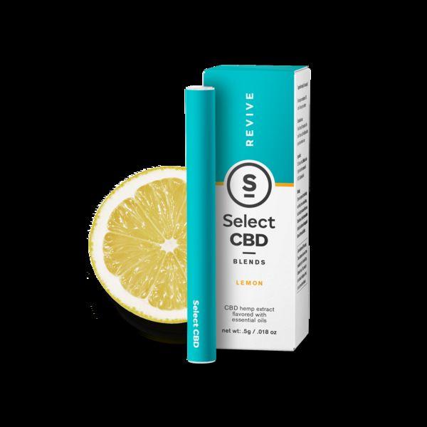 Revive Lemon - Select CBD Blends: Disposable Cartridges 250mg