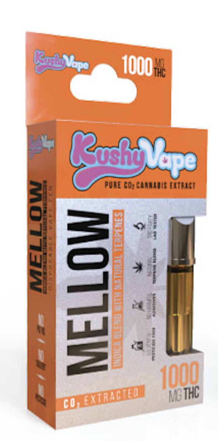 Kushy Punch Indica - Mellow - Cartridge 1g.