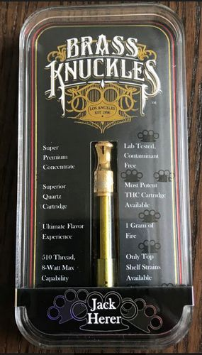 Brass Knuckles Jack Herer Cart. 1gram