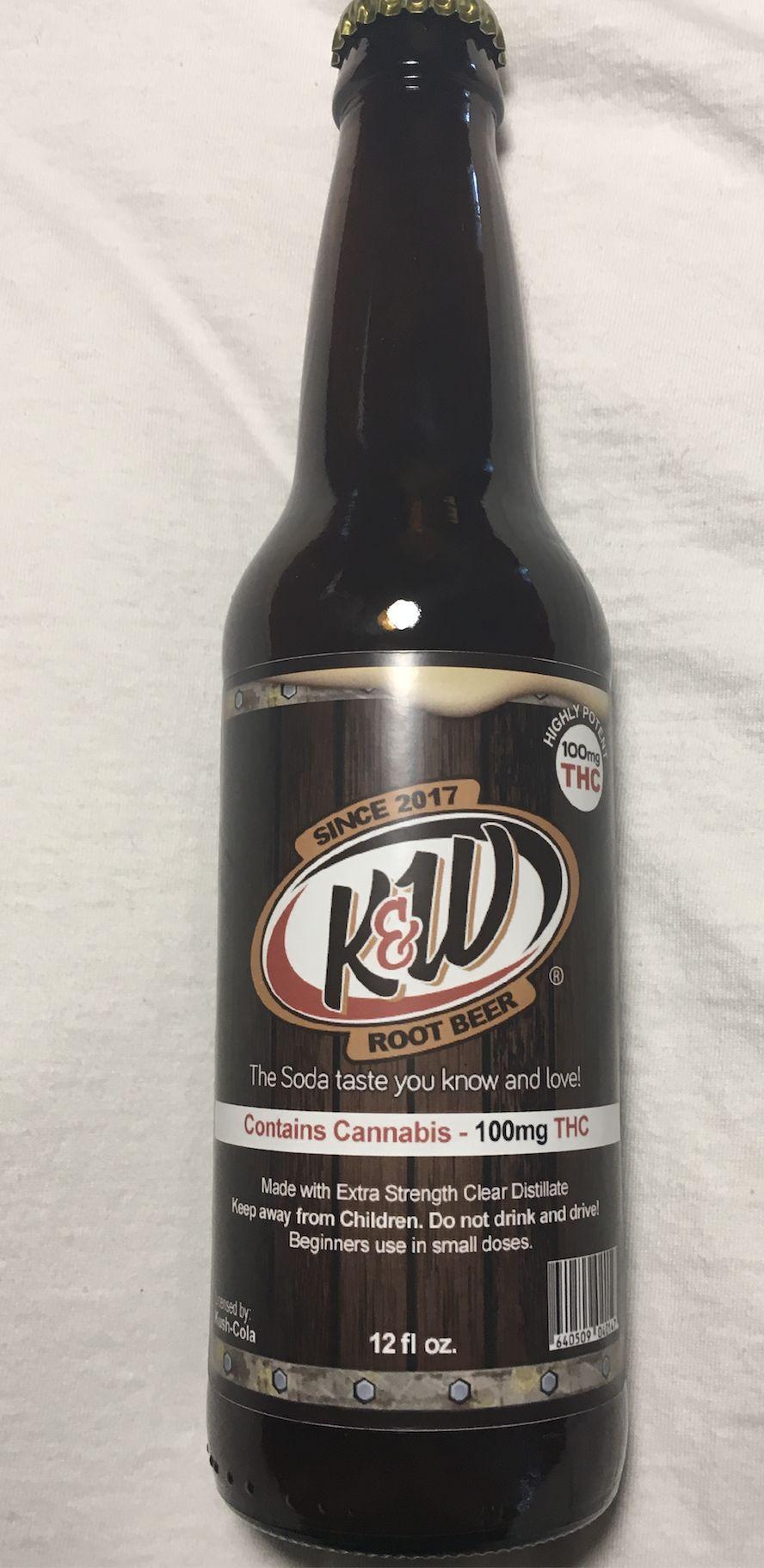 KW Rootbeer Soda 100mg
