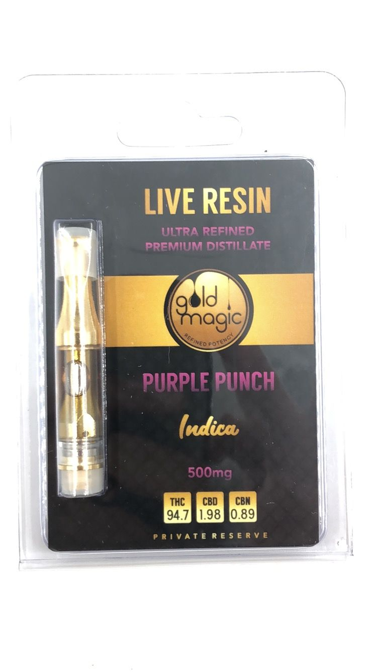 Purple Punch Cartridge (Gold Magic)