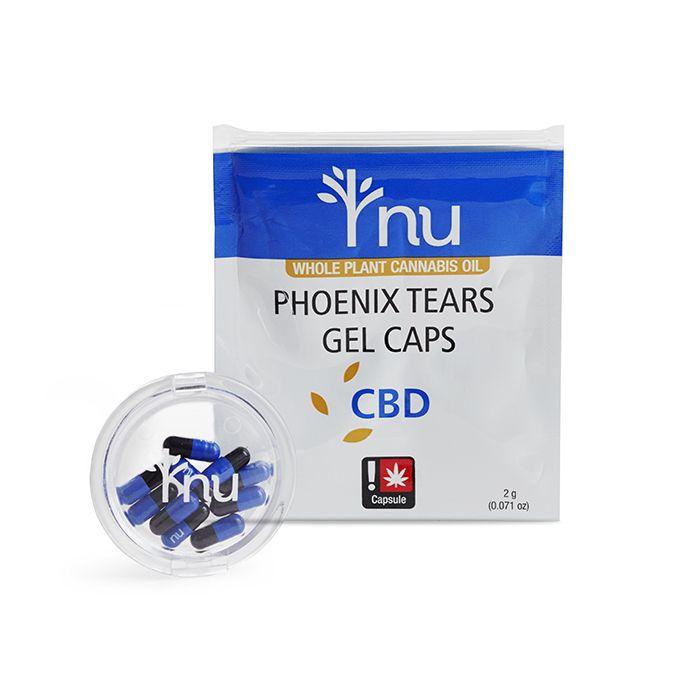 nu - CBD Phoenix Tears Capsules,  10 pack
