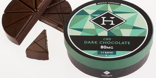 Hashman - CBD 1:1 Dark Chocolate (80mg)