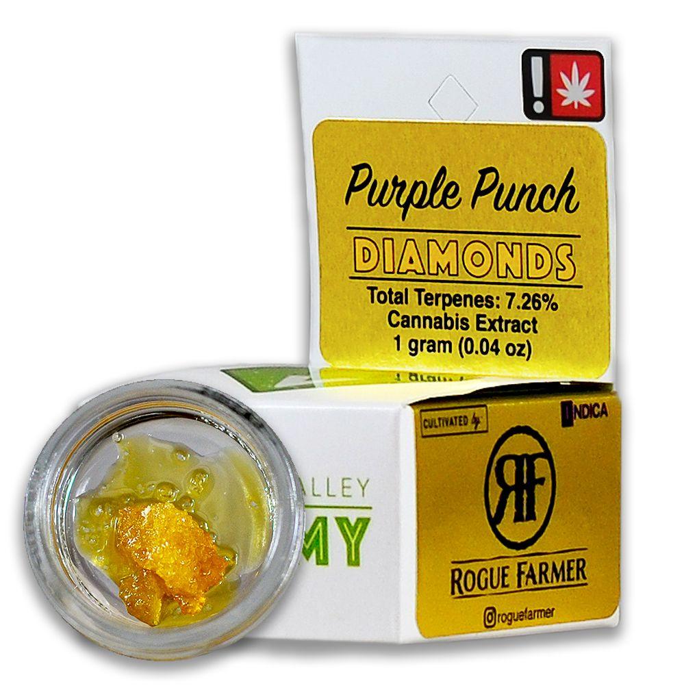 WVA - Purple Punch, Indica, Diamonds