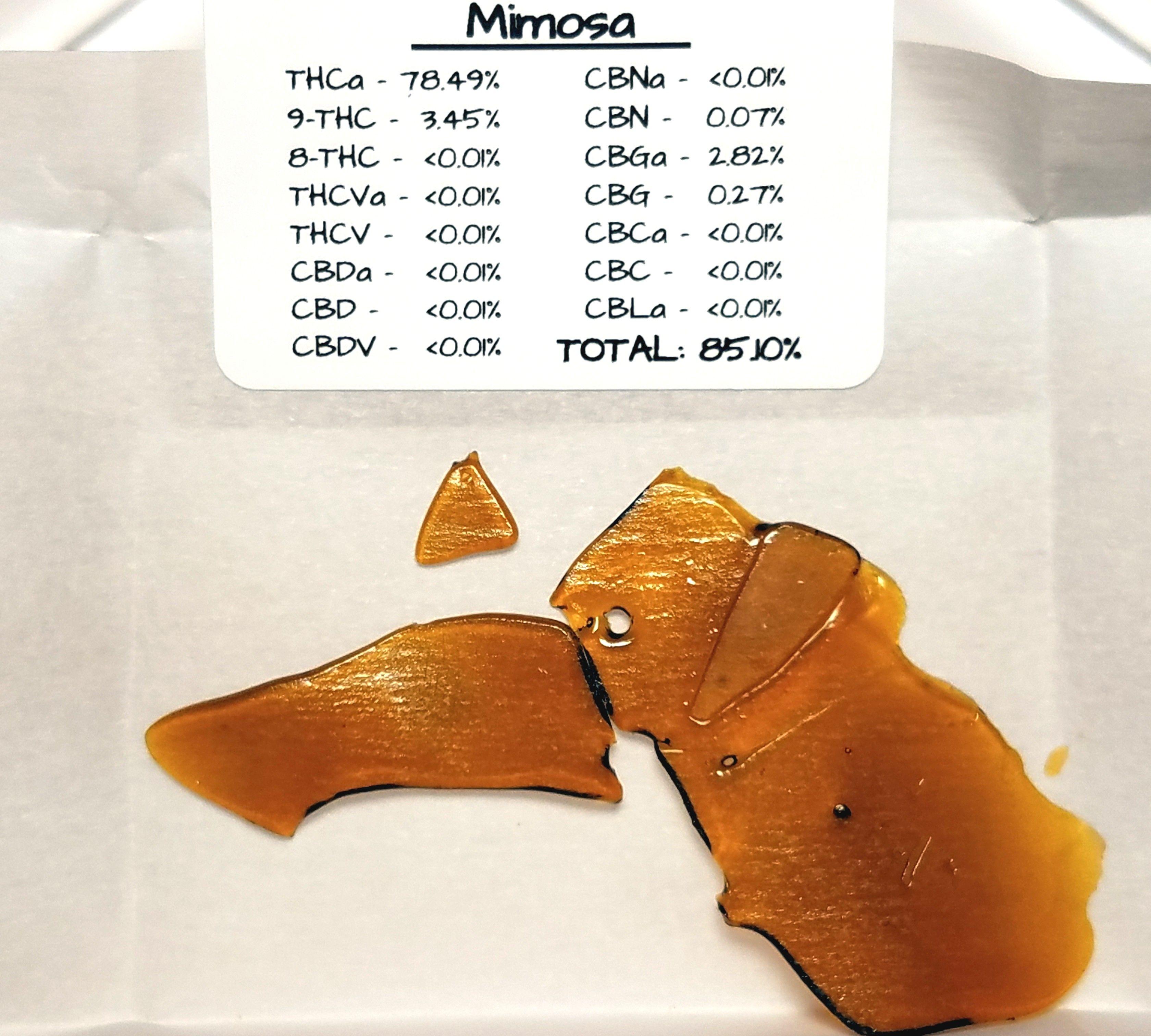 Dr. Jolly's - Mimosa, Sativa Hybrid , Shatter