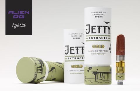 Jetty Gold Alien OG Cartridge $35