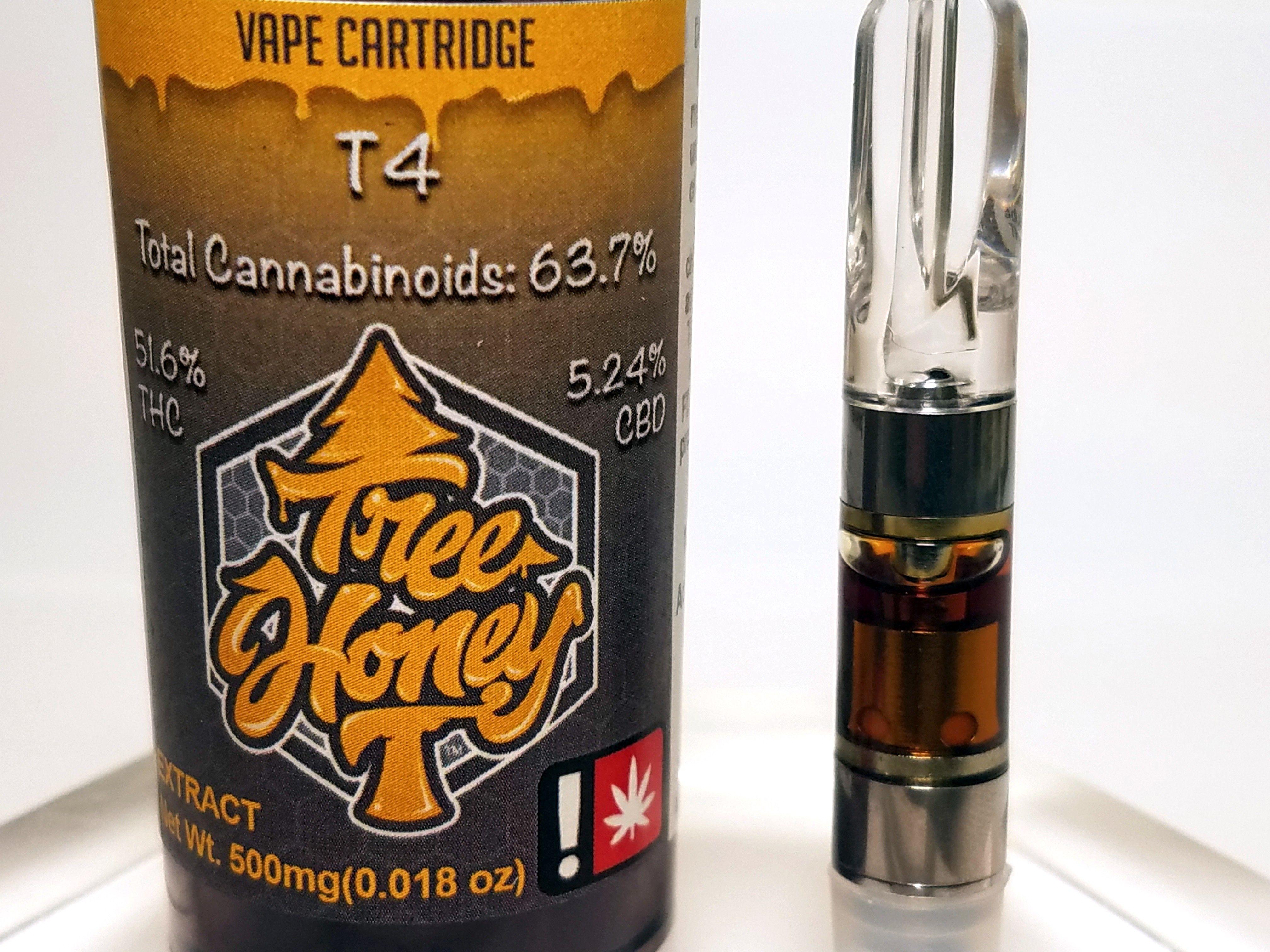 Tree Honey - T4, Sativa, CO2 Cart