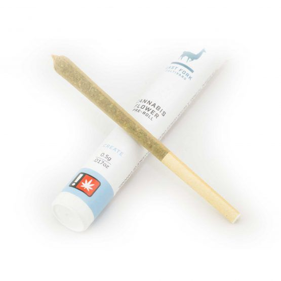 East Fork, Relax Pre-Roll, High CBD 0.5g, Was $7