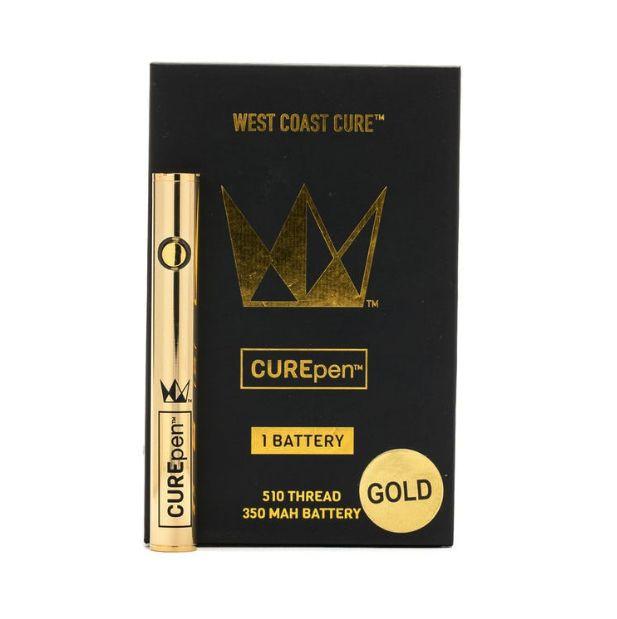 Gold CUREpen Battery- West Coast Cure