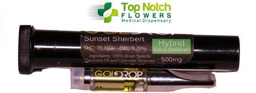 Sunset Sherbert Stainless Steel 500mg