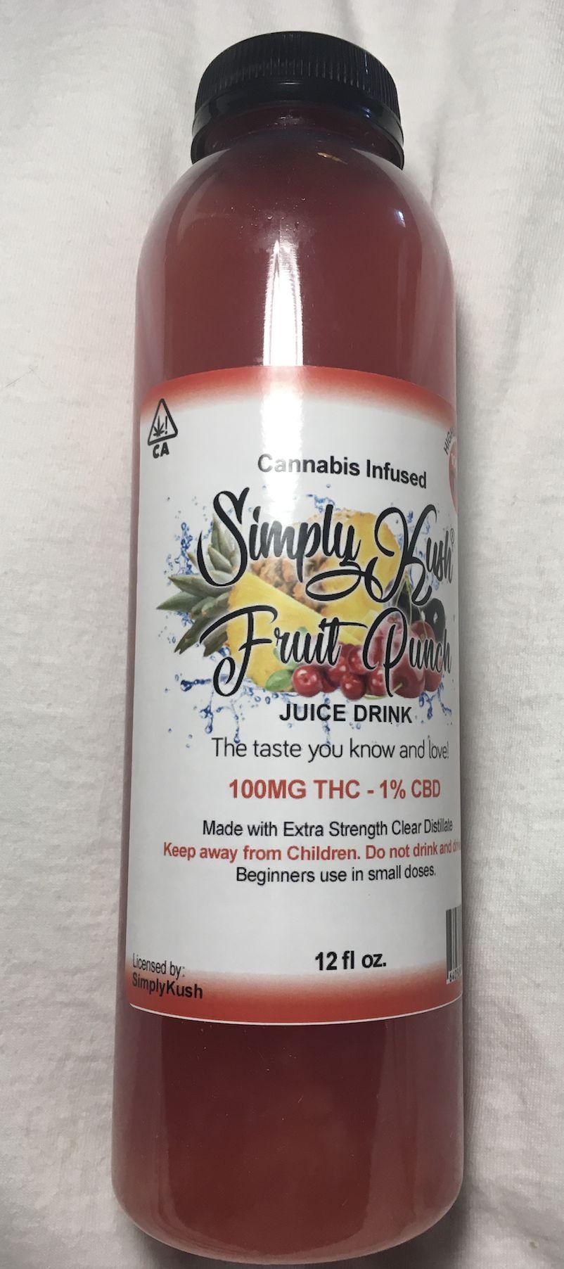 Simply Kush Fruit Punch 100 mg