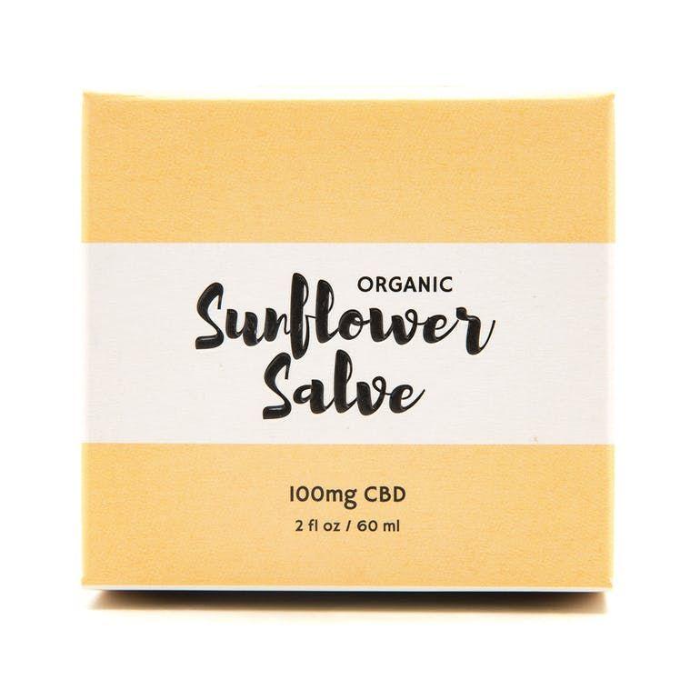 Organic Sunflower Salve 100mg CBD