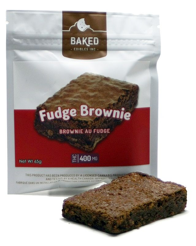 Baked Edibles Fudge Brownie 400mg