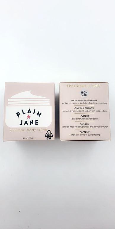 High Gorgeous Plain Jane Lotion - 200mg CBD