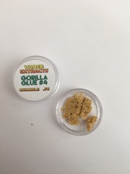 Vader Extracts- Crumble  Gorilla Glue # 4 .5g