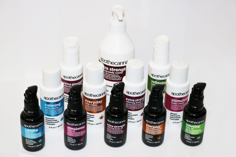 Apothecanna - Calming Body Oil - 1oz