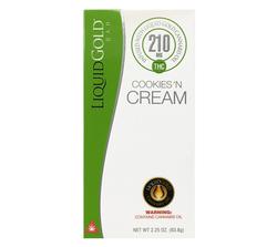 Liquid Gold 210MG Cookies n Cream Bar