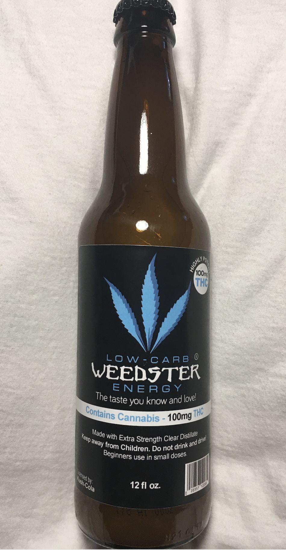 Weedster Low Carb Energy Drink 100 mg