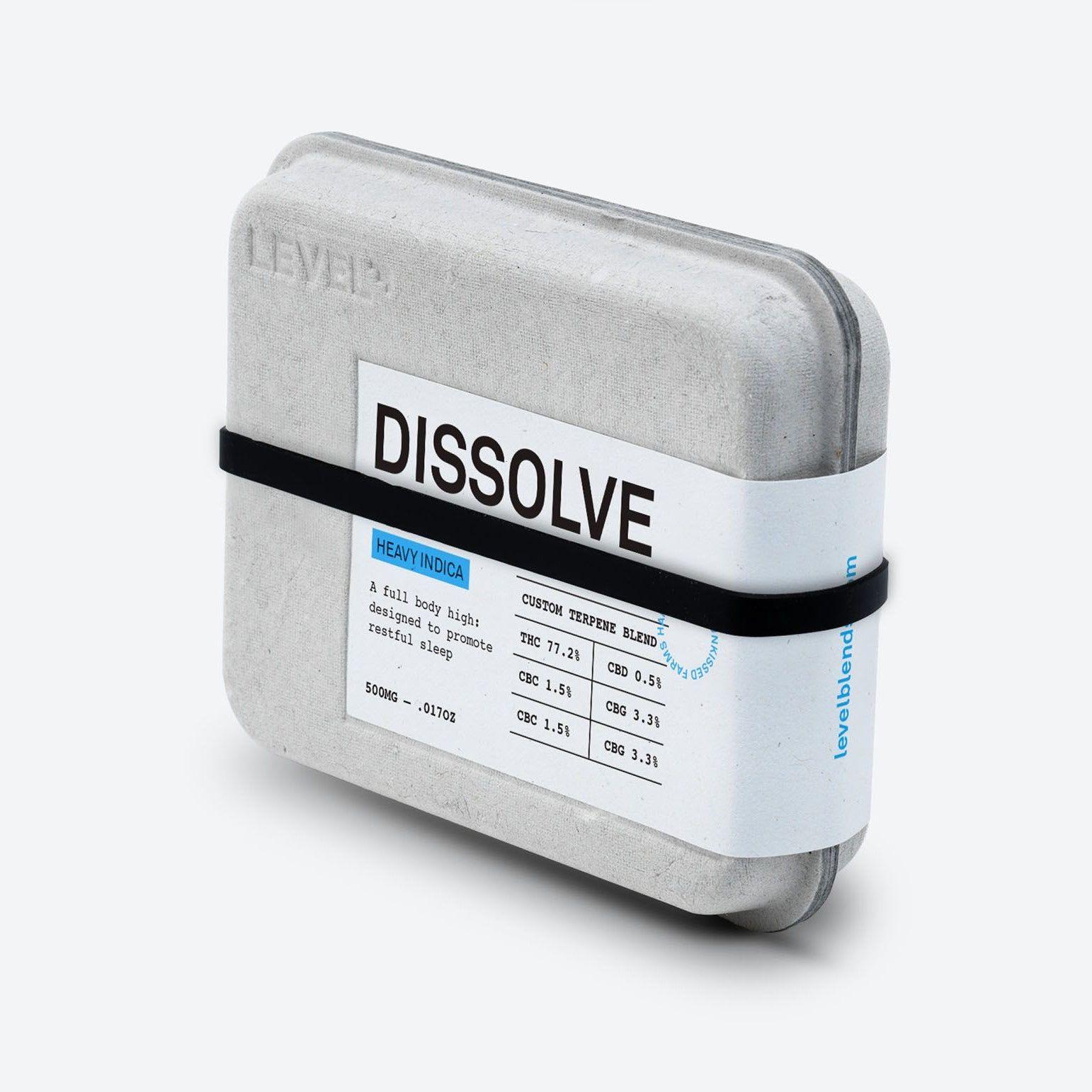 Level Dissolve Cartridge Heavy Indica $42
