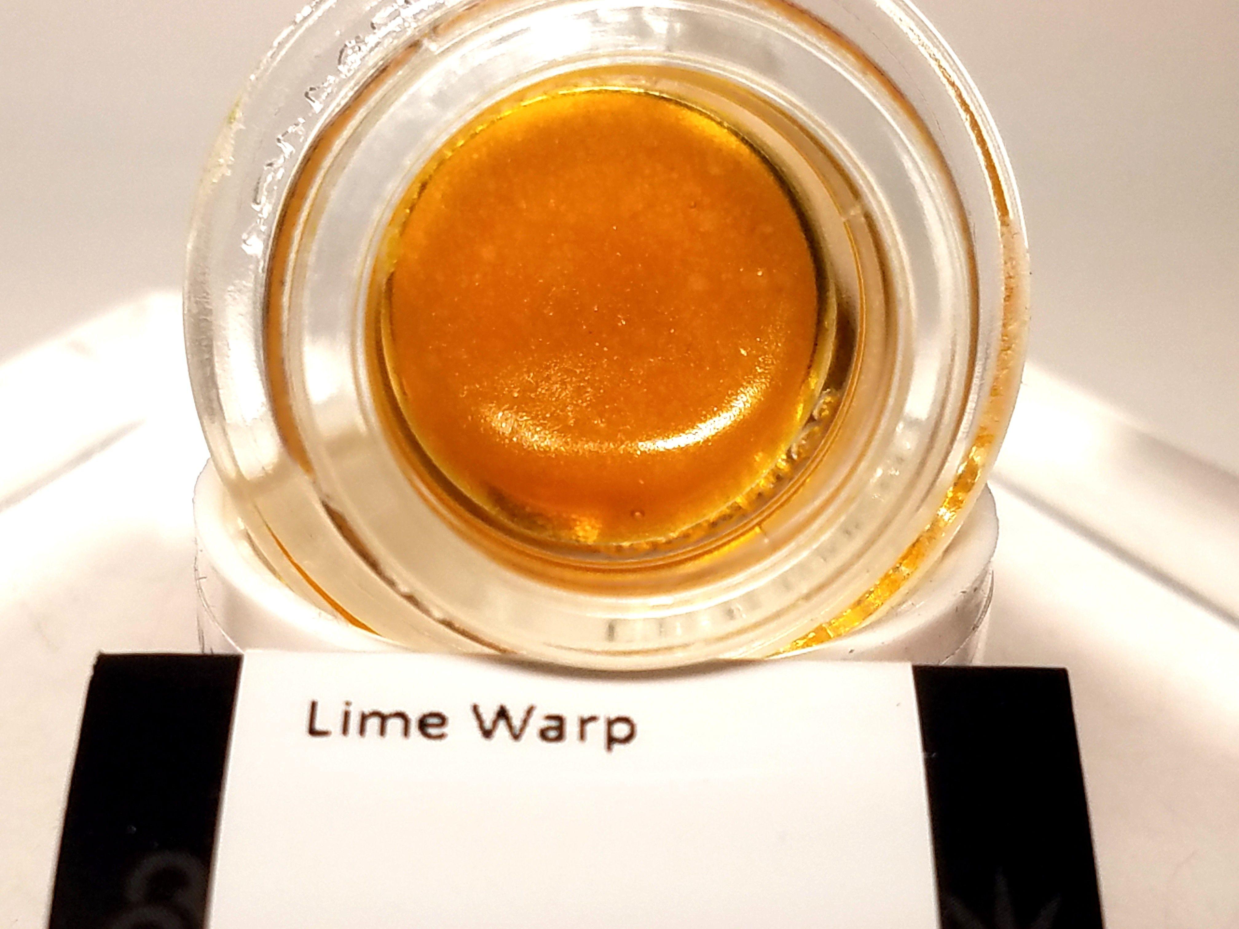 Bobsled - Lime Warp, Indica Hybrid, Live Resin