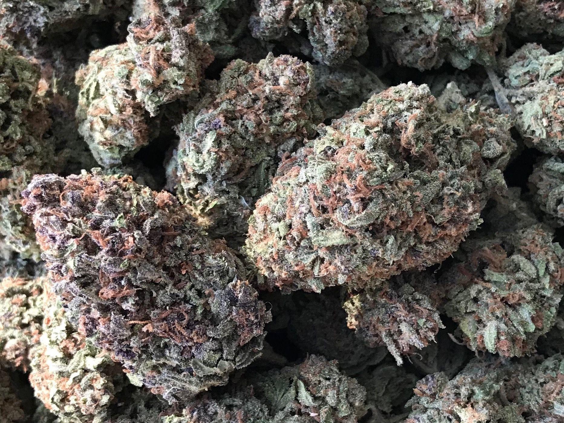 $140 oz. Blueberry Kush (Indica)