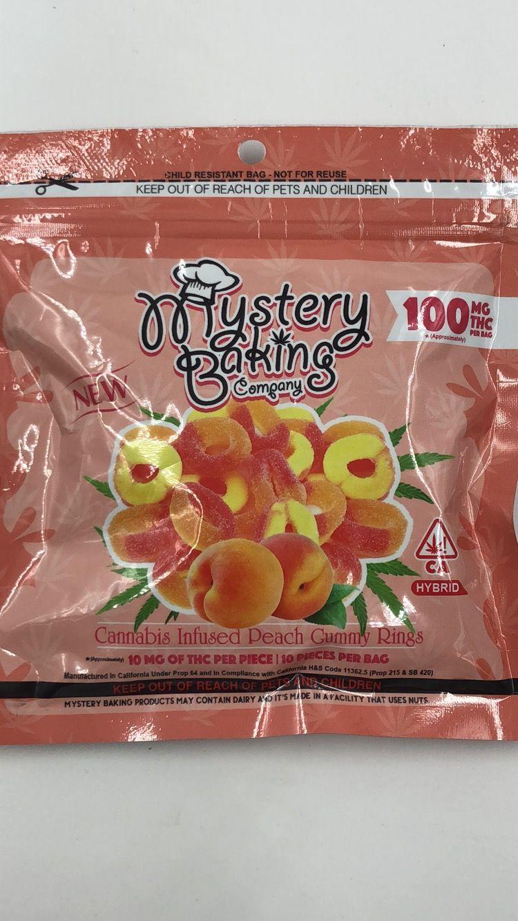 Peach RIng Gummies (Mystery Baking)