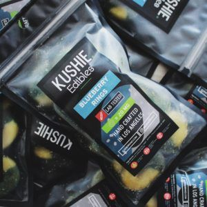 Kushie Blueberry Rings 20 MG THC