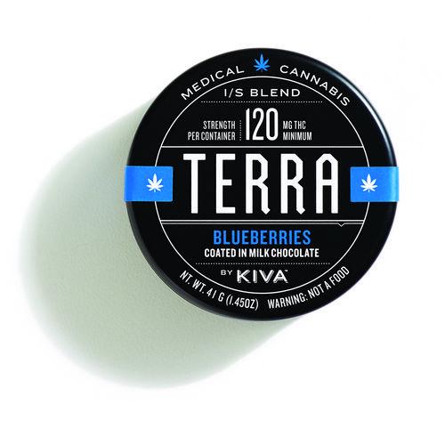 Kiva Terra Bites 120mg Blueberries