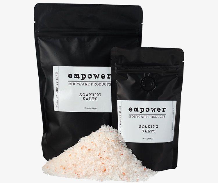 Empower - White Label 4oz Soaking Salt