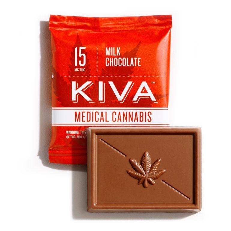 kiva - Milk Chocolate Mini -15mg