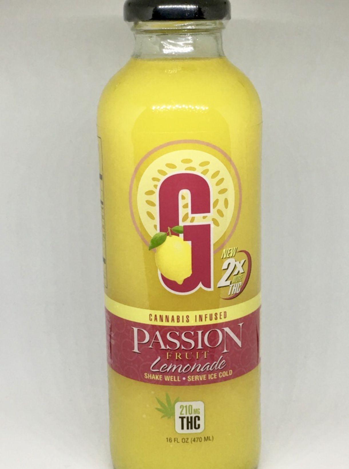 G-Drinks Passion Fruit Lemonade flavor (210mg THC)