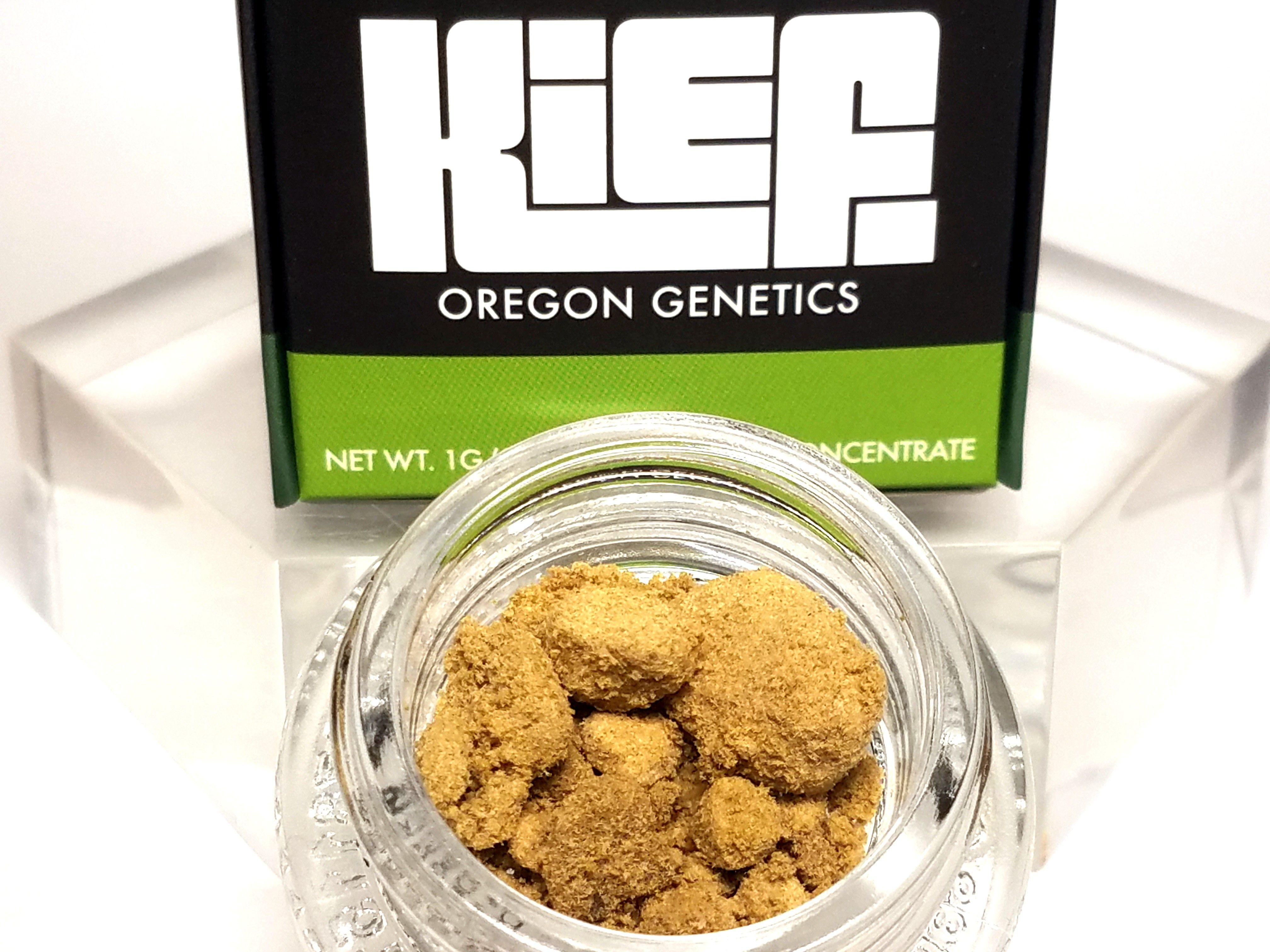 Oregon Genetics - Dawgwalker x GSC, Hybrid, Kief