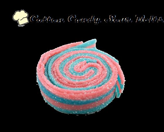 Infused Creations - Cotton Candy Sour Belts, 300mg Sativa
