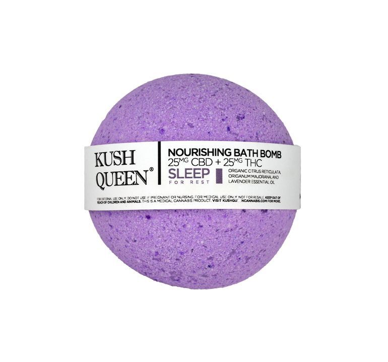 Kush Queen Sleep Bath Bomb 1:1 CBD:THC