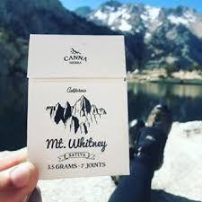 Canna Sierra MT. Whitney Sativa Pre Rolls (Sour diesel)