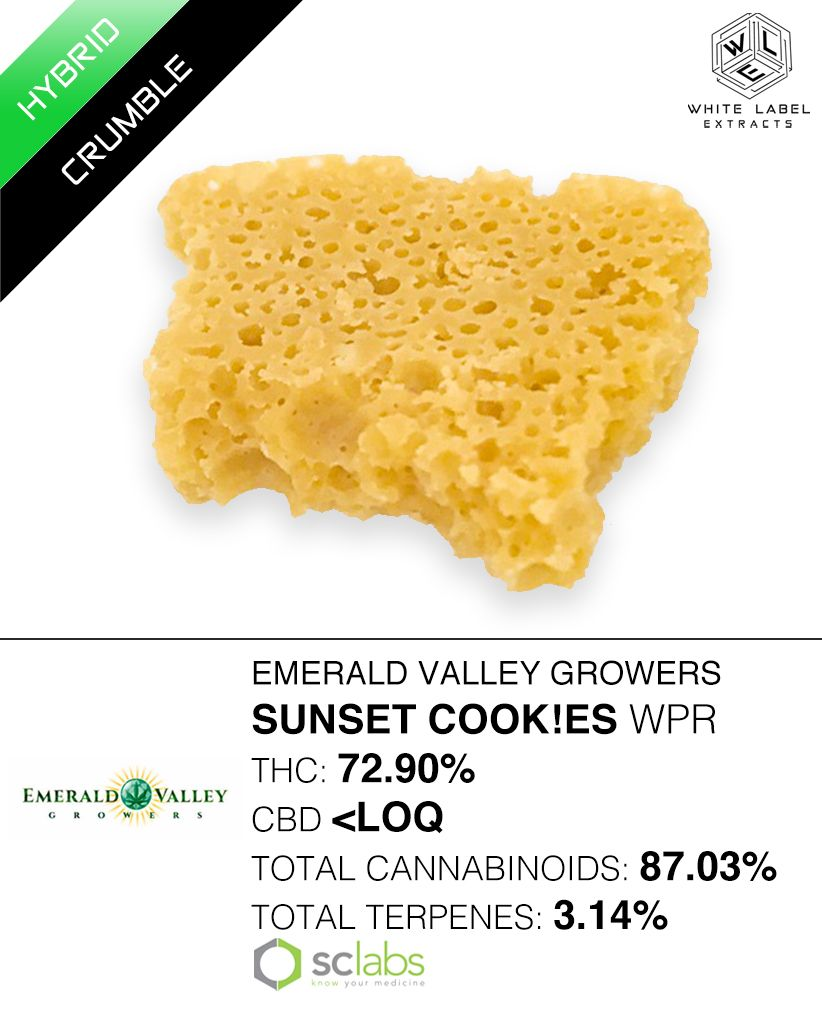 WLE - Sunset Cookies WPR, Hybrid, Honeycomb
