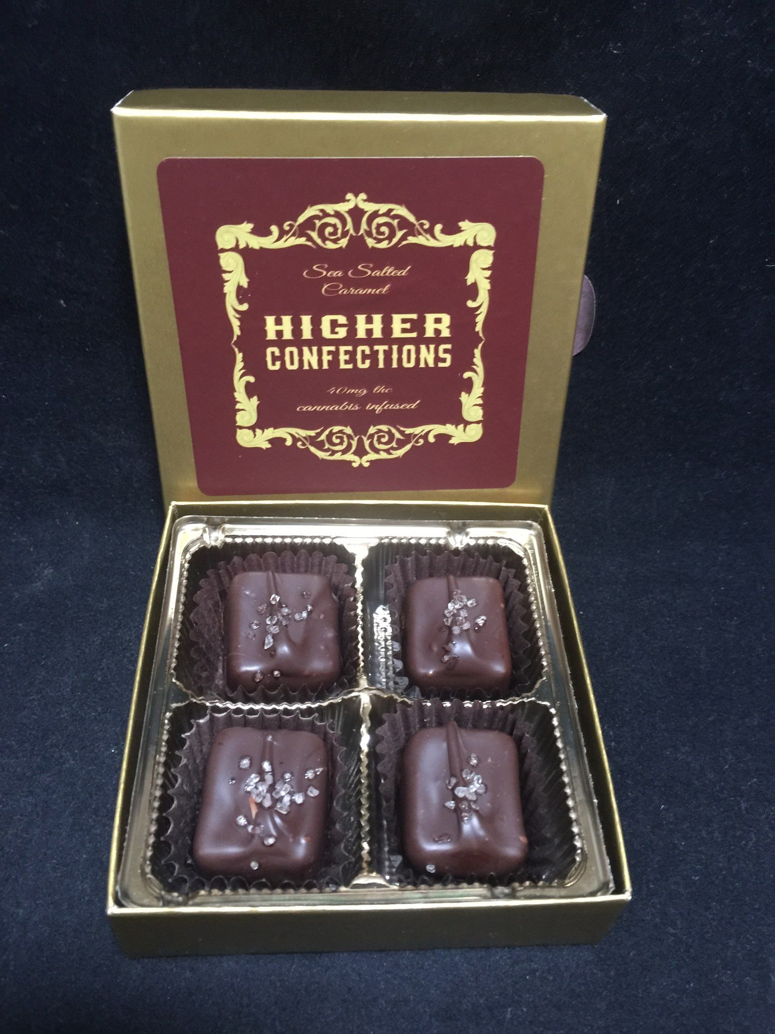 120mg CBD Honey Caramel by Higher Confections