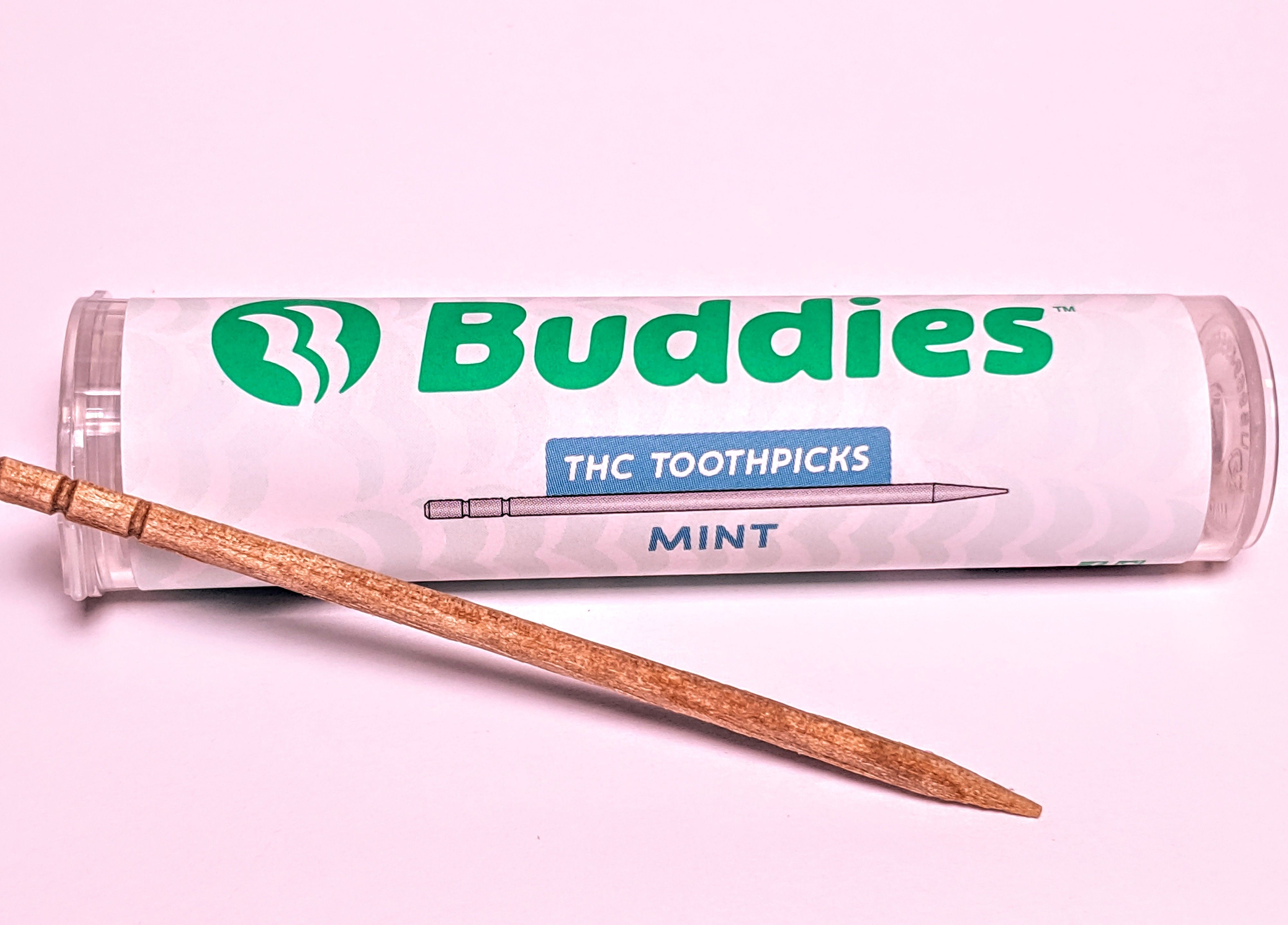 Buddies - Mint THC Toothpick