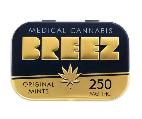 Breeze Mints: Original Mint 250mg