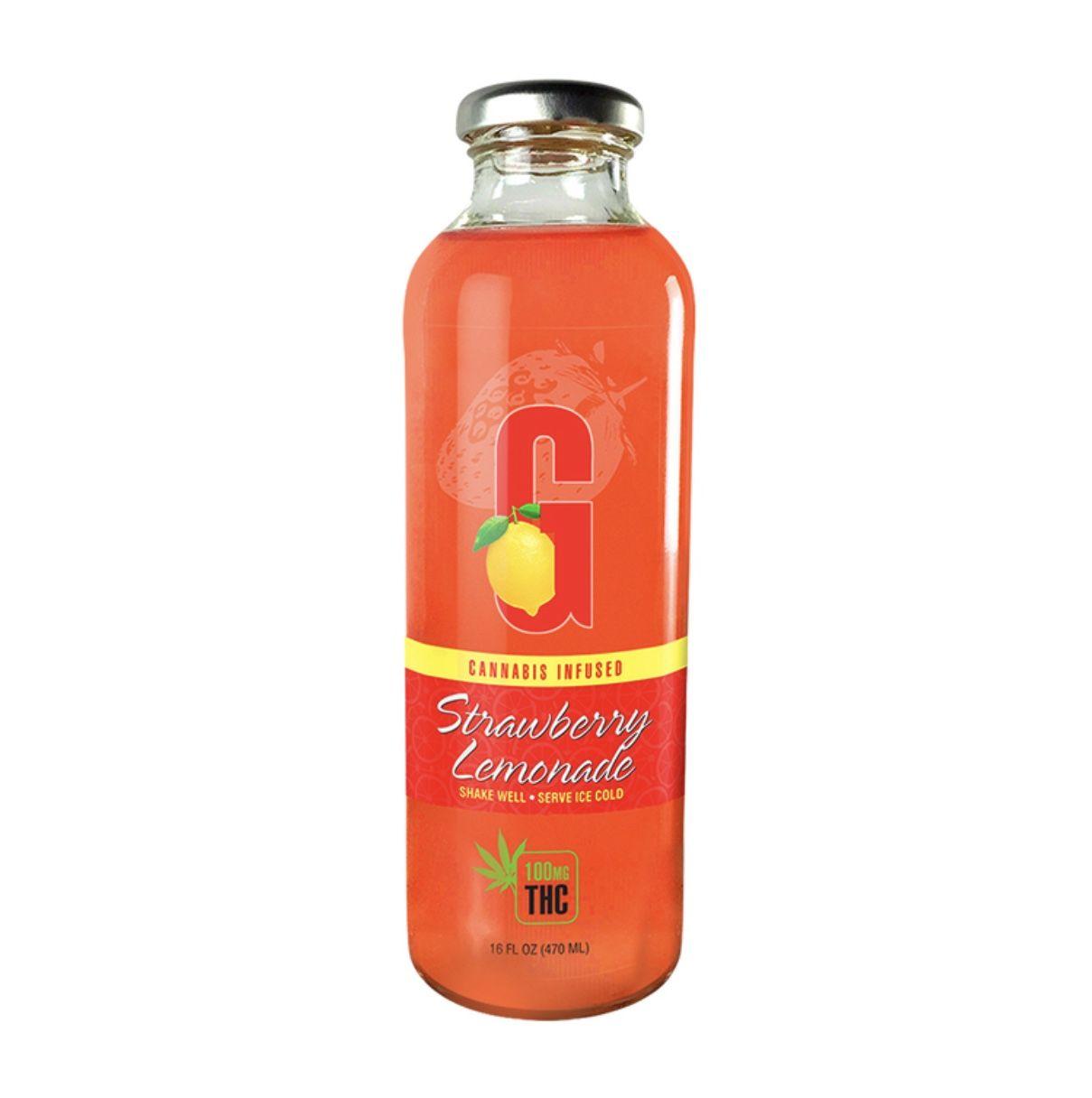 G Drinks Lemonade - Strawberry Lemonade