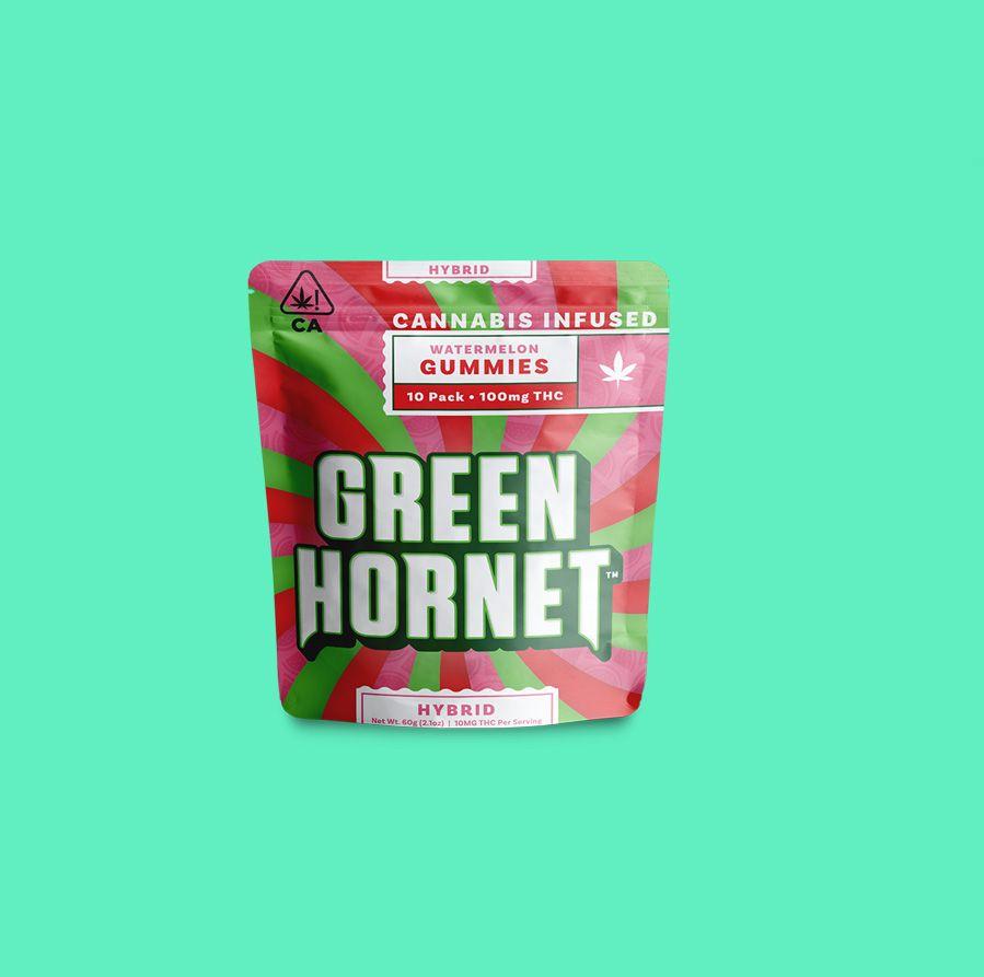 Green Hornet Hybrid Watermelon 100mg THC