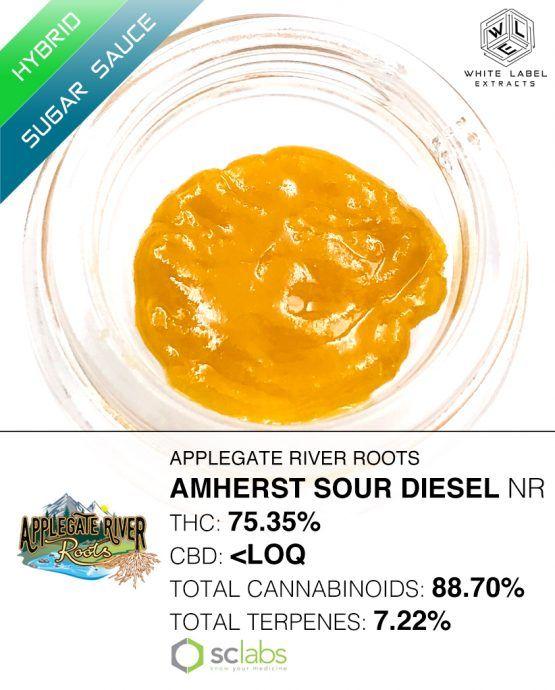 WLE - Amherst Sour Diesel, Sativa Hybrid, Sugar Sauce