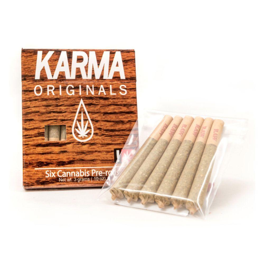Karma Originals - Golden Papaya Indica, 6 pack